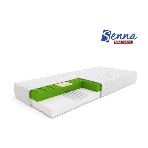 Senna massage - materac wysokoelastyczny, piankowy, rozmiar - 180x200 wyprzedaż, wysyłka gratis marki Materace senna