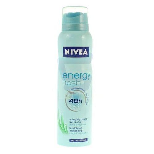 Nivea Antyperspirant dla kobiet  energy fresh 48 h w sprayu 150 ml