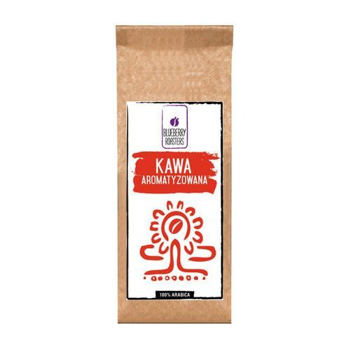Kawa aromatyzowana wanilia bourbon ziarnista 100g - wanilia bourbon \ 100g marki Blueberry roasters