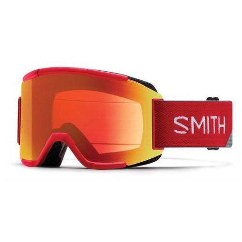 gogle snowboardowe SMITH - Squad Fire Split Chromap (2E0-99MP) rozmiar: OS