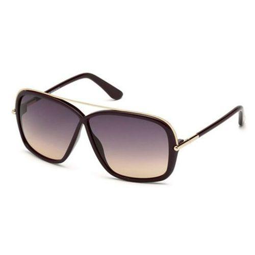 Tom ford Okulary słoneczne ft0455 brenda 81z