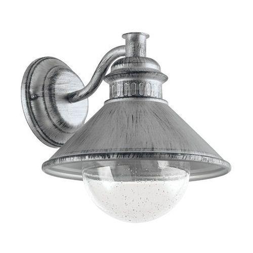 Eglo Kinkiet albacete 96263 lampa ścienna e27 antyczne srebro