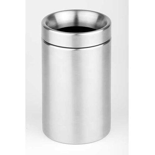 Aps Stołowy pojemnik na odpadki | nierdzewny | Ø100x180 mm
