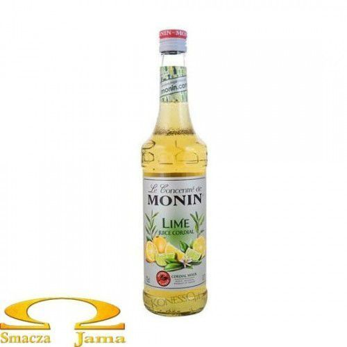 Syrop LIMONKA Lime Juice - Cordial Mixer Monin 700ml