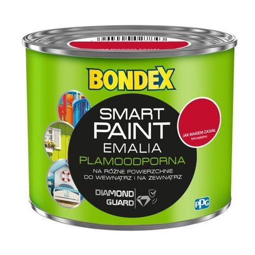 Bondex Emalia akrylowa smart paint jak makiem zasiał 0 5 l
