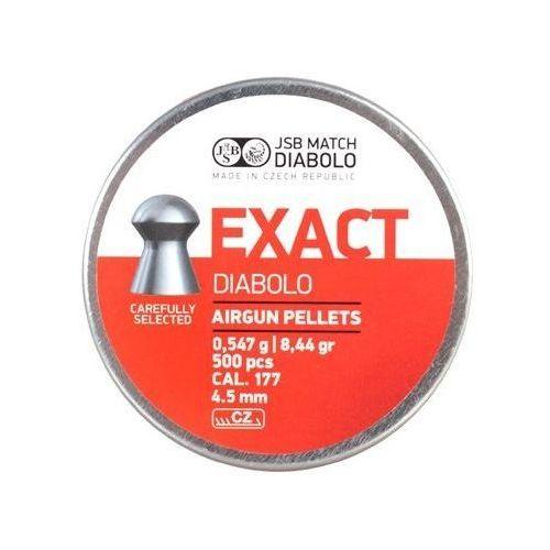śrut 4,5 mm JSB EXACT 500 szt. (EX450) (5907461661687)