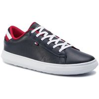 Sneakersy - essential leather detail cupsole fm0fm02272 midnight 403, Tommy hilfiger, 40-46