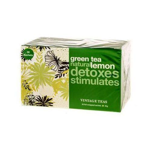 Vintage teas  green tea lemon - 30 torebek 1,5g