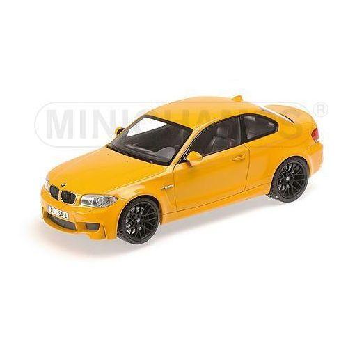 Minichamps BMW 1er M Coupe 2011 (yellow) (4012138124981)
