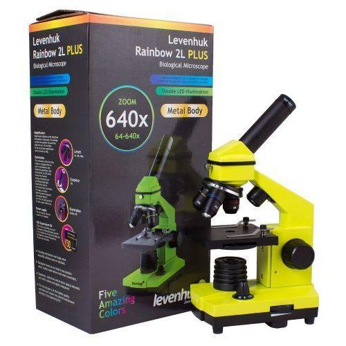 Mikroskop Levenhuk Rainbow 2L PLUS Lime\Limonka, C-LEV-69120