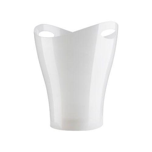 - kosz na śmieci - garbino metallic white - biały marki Umbra