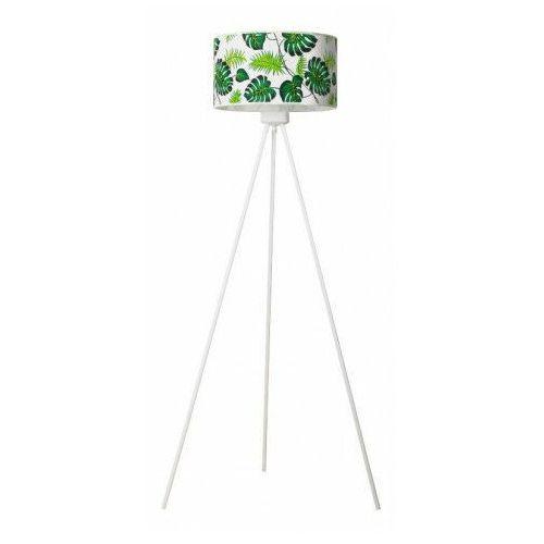 Lampa stojąca trójnóg z roślinnym wzorem - EX500-Monsteri, lampex_886/ST B