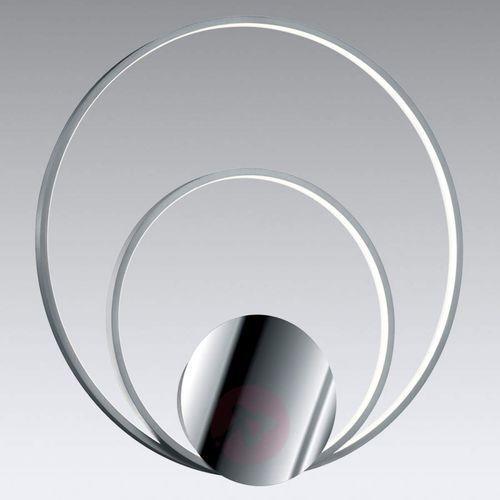 Sedona – ściemniany kinkiet led, aluminium/chrom marki Trio leuchten