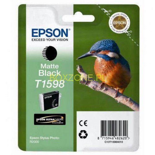 Epson  oryginalny ink c13t15984010, matte black, 17ml, epson stylus photo r2000 (8715946482620)