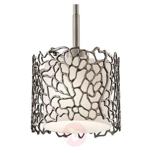 Lampa wisząca SILVER CORAL KL/SILCORAL/MP - Elstead Lighting - Rabat w koszyku, kolor Srebrny
