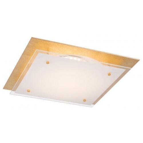 Plafon Rabalux June 3034 lampa sufitowa 1x24W LED biały / złoty