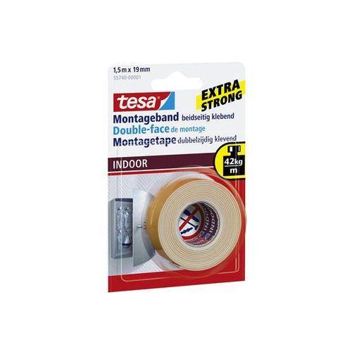 taśma mountint tape indoor 1,5mx19mm marki Tesa