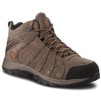 Trekkingi COLUMBIA - Canyon Point Mid Leather YM5472 Mud/Bright Copper 255, kolor brązowy