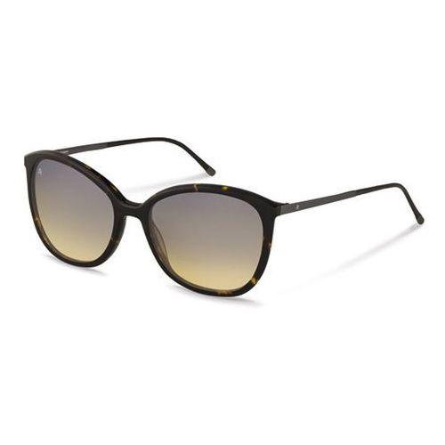 Okulary Słoneczne Rodenstock R7404 C, kolor żółty