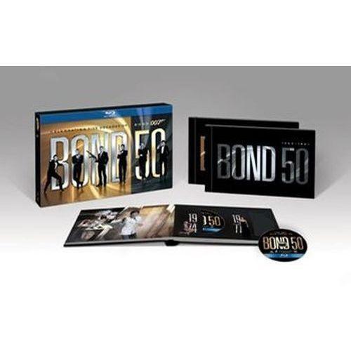 007 JAMES BOND 50-LECIE - ZESTAW 22 FILMÓW - BD