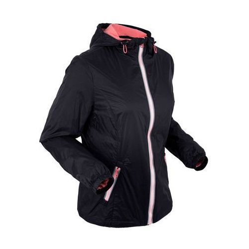 Ultralekka kurtka outdoorowa czarny marki Bonprix