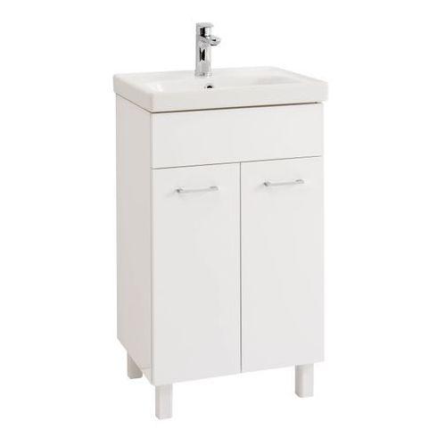 Zestaw szafka z umywalką Deftrans Noli 50 cm biały, kolor biały