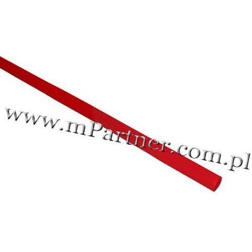 Rura termokurczliwa elastyczna v20-hft 2,5/1,3 czerwona marki Mpartner