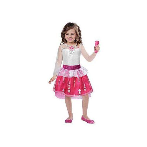 Kostium Księżniczka Barbie Rock 'n' Royals dla dziewczynki - 3/5 lat (104) (0013051612689)