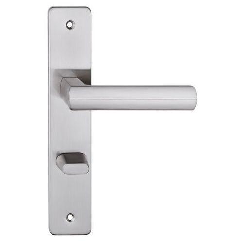 Metalbud Klamka drzwiowa viva 72 mm wc nikiel satyna