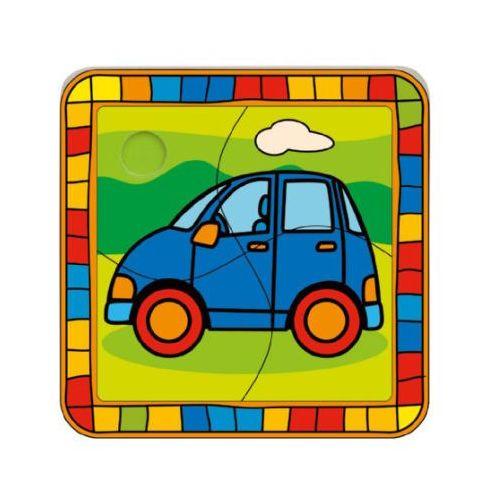 puzzle autko marki Bino