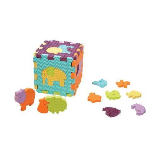 Ludi zabawka pudełko ze zwierzątkami