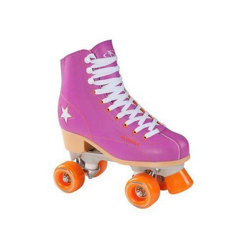 Hudora Disco roller skates purple/Orange size 36
