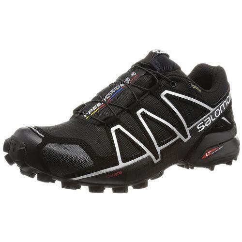 Buty do biegania w terenie Salomon Speedcross 4 GTX dla mężczyzn, kolor: czarny (Black/Black/Silver Metallic-X), rozmiar: 46 EU, L38318100-A1U8-11.5 M US