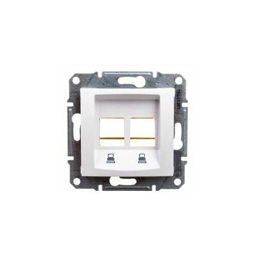 Schneider Płytka centralna sedna sdn4400621 2xrj45 do amp molex keline biała (8690495061383)
