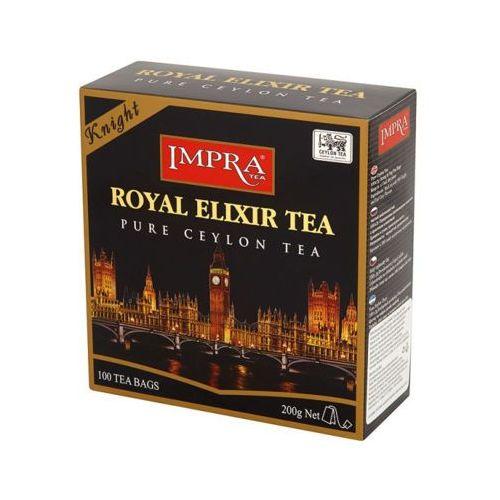 Impra tea 100x2g royal elixir tea knight herbata czarna ekspresowa premium marki Imperial tea