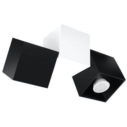 Lampa sufitowa OCCHIO NERO 3 Czarny/Biały SL.0474 - Sollux - Black Friday - 21-26 listopada (5902622429731)
