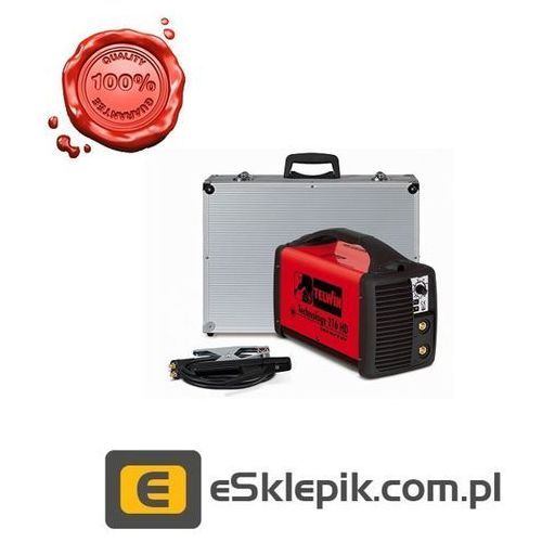 Telwin TECNICA 216 HD + ACX + walizka metal - inwertor spawalniczy MMA/TIG
