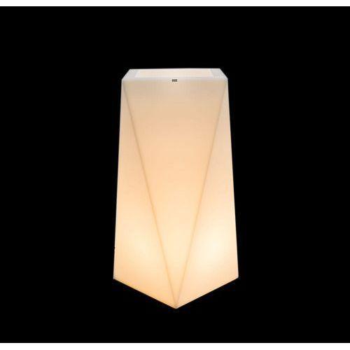 Donica podświetlana nevis 90 cm (barwa ciepła) marki Decolovin