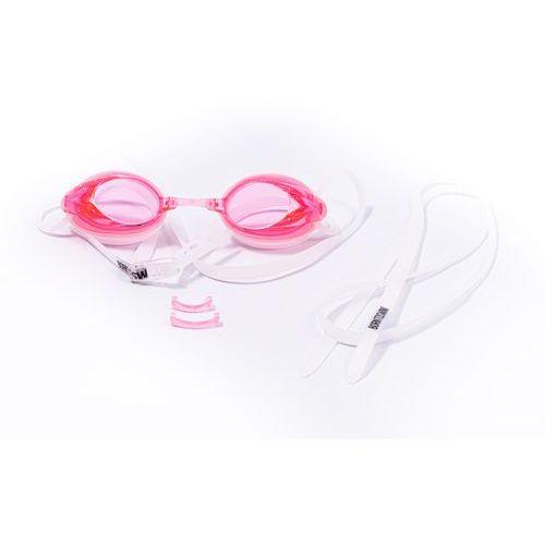 Born to swim okulary pływackie fitness - pink