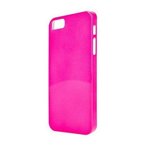 Etui XQISIT iPlate Glossy do iPhone 5/5S Różowy