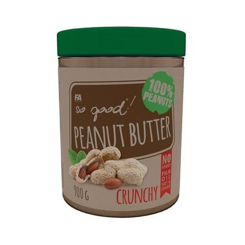 Fitness authority so good peanut butter - 900g - crunchy (5902052816361)