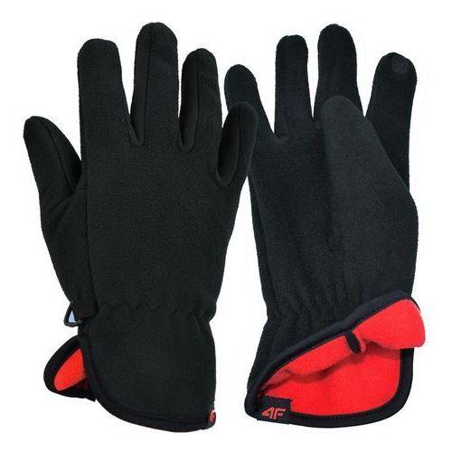 Uniwersalne rękawice polarowe z18 reu003 czarny m marki 4f