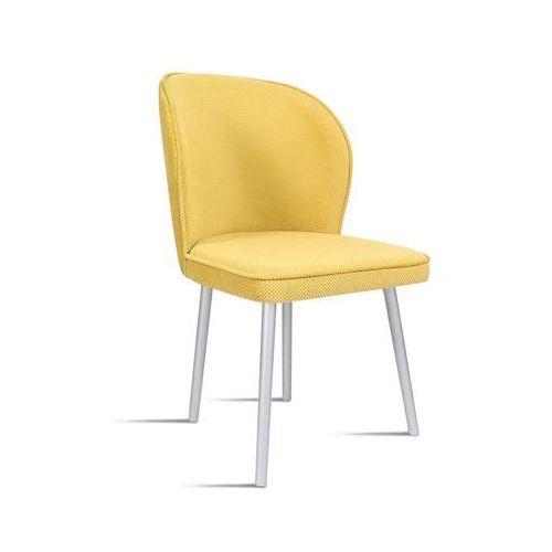 Krzesło RINO miodowy/ noga silver/ LU2784, 28 dni roboczych