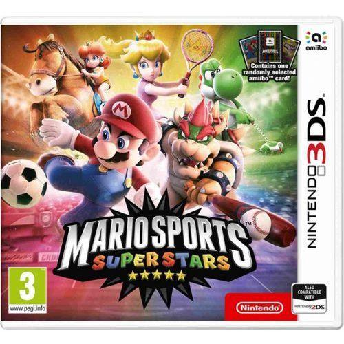 Mario sports superstars + amiibo card (1pc) (2ds/3ds) marki Nintendo