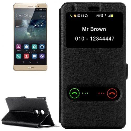 Eleganckie Etui Huawei P8 Lite Czarne, kolor czarny