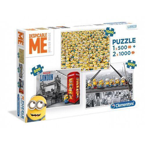 500 + 2x1000 elementów Minionki - Clementoni (8005125081059)