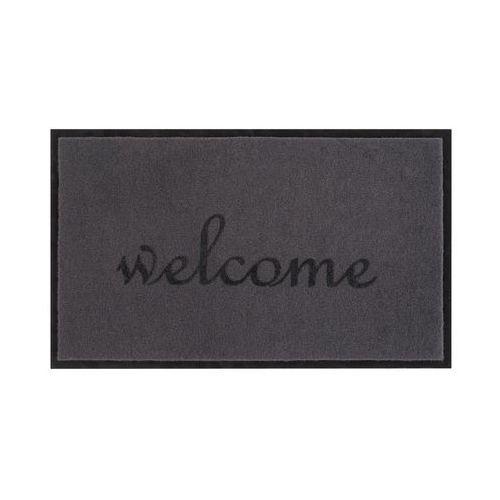 Wycieraczka WELCOME 75 x 45 cm szara INSPIRE (3276000318569)