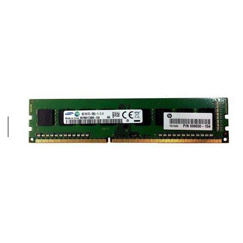 Samsung Pamięć ram 1x 4gb unbuffered ddr3 1600mhz non-ecc pc3-12800 udimm | m378b5173qh0-ck0