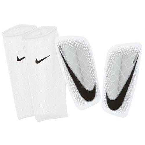 Nowe ochraniacze piłkarskie mercurial lite white rozmiar m marki Nike