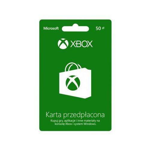 Microsoft Karta  przedpłacona xbox o wartości 50 zł